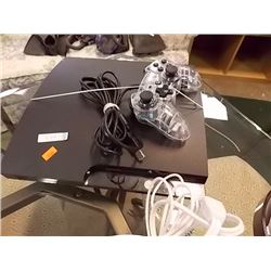 PS3 CONSOLE WITH CONTROLLERS- PS