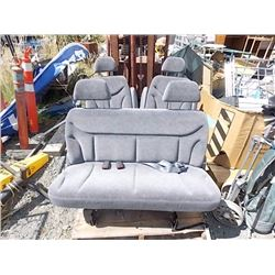 VAN SEATS - 3PC