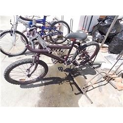 BIKE - CHILD'S 5 SPEED BIKE - PURPLE