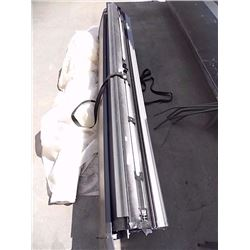 TRUCK BED ROLL-UP SECURITY COVER - ALUMINUM PULLS DOWN
