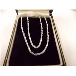 NEW STERLING SILVER CHAIN - 20""