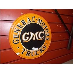 METAL SIGN - GMC
