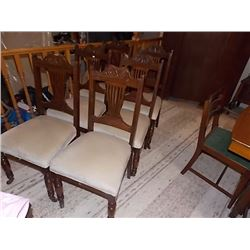 EAST WING DINING CHAIRS - 6 x BID
