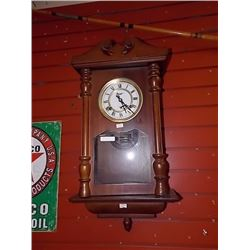 VINTAGE REGULATOR CHIME CLOCK