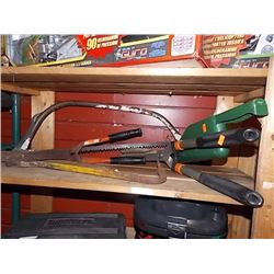 SHELF ASSORTED GARDEN TOOLS - PS