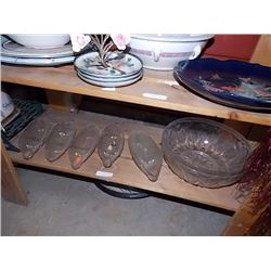 SHELF - GLASS - BOWL & MORE