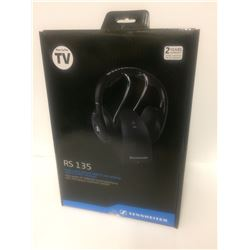 Sennheiser RS135 Wireless Headphones (HIGH QUALITY RF WIRELESS SOUND EXPERIENCE)