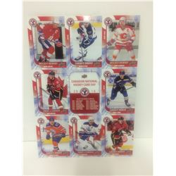 2016 UPPER DECK CANADIAN NATIONAL HOCKEY CARDS