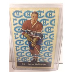 1961-62 Parkhurst Jean Beliveau #45  Vintage Hockey Card