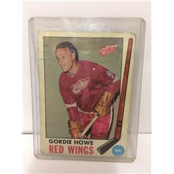 GORDIE HOWE - 1967/68 - O-PEE-CHEE - NHL - Detroit Red Wings - #43