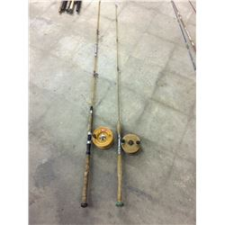 2 VINTAGE FLY FISHING RODS