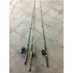 FISHING RODS & REELS LOT