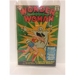 Wonder Woman #165 1966-Paper Man- DC Silver Age