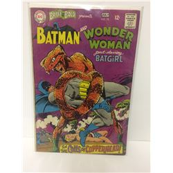 DC Comics: The Brave & the Bold #78 (1968) Batman & Wonder Woman w/ Batgirl