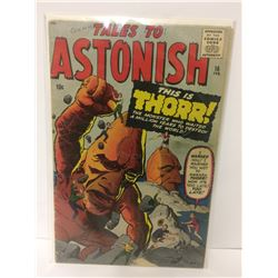 TALES TO ASTONISH #16-THORR issue-1961-MARVEL-KIRBY-DITKO-HORROR ART