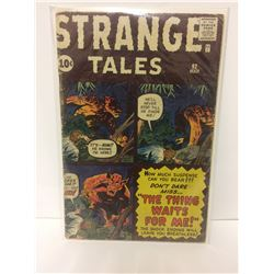 Strange Tales #92 1962- Kirby- Ditko- Flying Saucer story