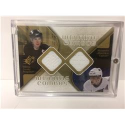 SIDNEY CROSBY & ALEX OVECHKIN AUTHENTIC JERSEY CARDS