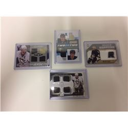 PITTSBURG PENGUINS GAME USED JERSEY CARDS