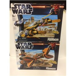 NEW IN BOX STAR WARS POD RACERS
