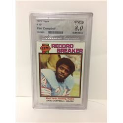 1979 EARL CAMPBELL #331 TOPPS FOOTBALL CARD (8 NEAR MINT-MINT)