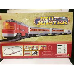 NEW IN BOX RAILMASTER TRAIN SET