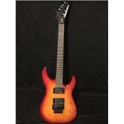 Jackson  Burnt Cherry Sunburst Electric Guitar W/ FLOYD ROSE TREMOLO