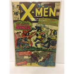 THE X-MEN #9 - 1965 Marvel Silver Age - Jack Kirby - Avengers