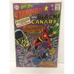DC COMICS THE BRAVE AND THE BOLD #61 1965 - ORIGIN OF STARMAN & BLACK CANARY