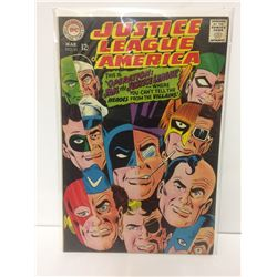 DC Comics JUSTICE LEAGUE OF AMERICA #61 March 1968 vintage comic