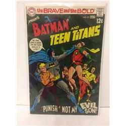 The Brave and the Bold #83 (1969) Neal Adams Batman & Teen Titans
