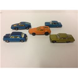 VINTAGE TOY CAR LOT (MADE IN ENGLAND)