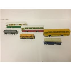 VINTAGE TOY BUS LOT