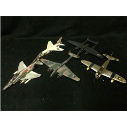 VINTAGE MODEL AIRPLANES LOT