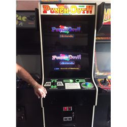 NINTENDO PUNCH OUT ARCADE GAME W/ DUAL SCREEN (MINT CONDITION) VERY RARE