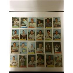VINTAGE BASEBALL TRADING CARD LOT (#214 FERRIS FAITH)
