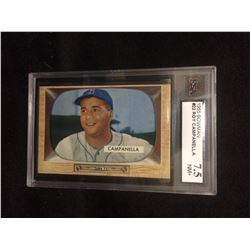 1955 Bowman ROY CAMPANELLA #22  Brooklyn DODGERS HOF (7.5 NM+)