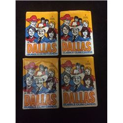 "1981 ""Dallas"" Bubble Gum Cards LOT"