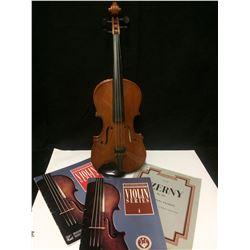 VIOLIN W/ SHEET MUSIC