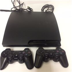 PS3 GAMING SYSTEM W/ CONTROLLERS