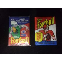 TOPPS FOOTBALL WAX PACKS LOT