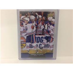 2015/2016 UD Connor McDavid Collection #23 ROOKIE Oilers