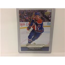 2015/2016 UD Connor McDavid Collection #24 ROOKIE Oilers