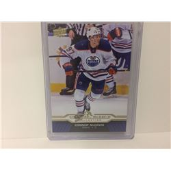 Connor McDavid UPPER DECK COLLECTION CARD