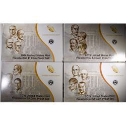 2013-2016 PRESIDENTIAL PROOF SETS