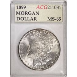 1899 MORGAN DOLLAR, ACG GEM BU