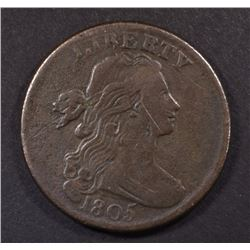 1805 LARGE CENT VF, SOME MARKS