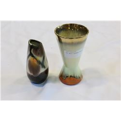 TWO WEST GERMAN VASES