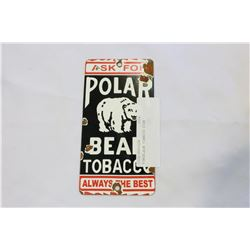 PORCELAIN TOBACCO SIGN