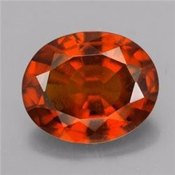 Natural Hessonite Garnet 3.40 ct - no Treatment