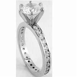 Natural Diamond Ring SI2/H 1.65 Cts - no Treatment